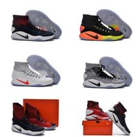 air high heels - 2016 Lape Hyperdunk Flyknit Mens Boots Winter Soft Sock ankle boots Top quality Rio Olympic USA Weaving Airs Cushion Trainers Sneaker