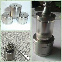 big fix - Atomizer fixed base Suit for atomizer RDA RBA RTA Atomizer Big SS Stand Metal Holder Exhibition with thread Display