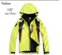 Wholesale Drop shipping Men s Clothing winter coat camping Outerwear jackets in Waterproof Windproof Outdoor Ski Windbreaker for