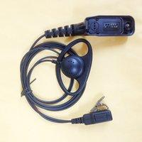 Wholesale D shape fashion clip headphone earhook for motorola XIR P8200 P8208 P8260 P8268 P8660 P8668 XPR6550 etc walkie talkie