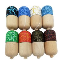 Wholesale Crack Pill Kendama Professional Sports Toy Skillful Jling Ball Game Toy Gift For Children Adult Christmas Toy Gift