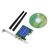 Wholesale High Quality Wireless M Built in Network PCI Express Adapter Card B G N Antenna