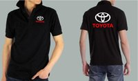 aftermarket services - New Summer fashion toyota car S shop shirt customer Aftermarket service standard toyota short sleeved men and women shirts