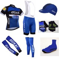 Wholesale 2016 Summer quick dry MTB Ropa Ciclismo Bicycle maillot team etixx quick step bike cycling jersey set breathable bike clothesot