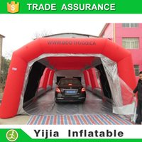 Wholesale China workstation portable inflatable spray paint booth