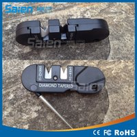 Wholesale EDC carry multi purpose outdoor portable multifunction tool sharpening tungsten steel knife sharpener sharpener