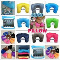 Wholesale 2015 HOT Pillow in U shaped Pillow seat cushions Travel Pillow iPad Tablet Case Car waist neck pillow nap pillow BBB3214