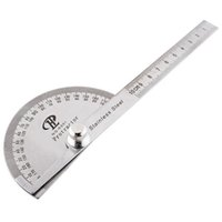 angle finder tools - Stainless Protractor Round Head Angle Finder Craftsman Rule Ruler Machinist Tool