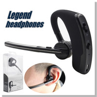 Cheap V8 Voyager Earpieces Bluetooth Headphones Wireless Headsets Bluetooth 4.0 Legend bluetooth stereo headset Retail Package