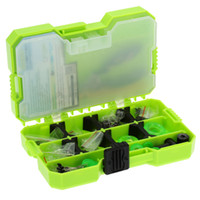 assorted storage box - JAKEMY Assorted Fishing Tackle Set Box Fishing Accessories Kit Fishing Hooks Pliers Lead Sheet Float Seats Swivels Hook Tier Y2337