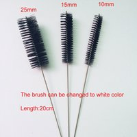 Wholesale Nylon Straw Cleaners Cleaning Brush for Drinking Pipe Stainless Steel Glass mm mm mm
