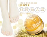 Wholesale Gold Jiang Wang foot peeling cream foot whitening exfoliating cream mask hot sales epaclet