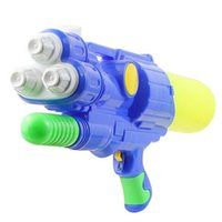 beach press - 3 Nozzles Super Waterpower Water Gun Ultra large Capacity to M Range Summer Press Style Water Toys Swim Fun