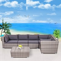 wicker furniture - Outdoor Patio Rattan PE Wicker Sofa Chair table PE rattan wicker sofa set wicker furniture Garden patio furniture outdoor furniture
