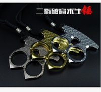 art gear - The broken window survive hammer iron two fingers self defense orchid two knuckles Key Charm lotus two refers to the martial arts boxing