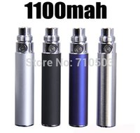 Wholesale Electronic cigarette clearomizer egot ce4 ego t mah puffs hours battery nine color for choose