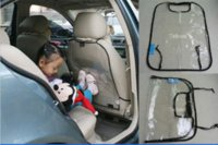 Wholesale 2pc keep clean auto kick mat Cover Back Protectors for Children Babies Dogs Protect from Mud Dirt Universal