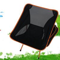 aluminium folding camping chairs - Aluminium alloy Fishing Chair Outdoor Portable Folding Chair Super Light Aluminum alloy Camping Leisure Fishing Chair