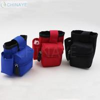 Wholesale Super portable pouch bag e cigarette canvas nylon ego bag three colors Ecig Carring pouch eGo Box Case Pouch for Mechanical Mod