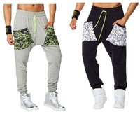 Wholesale women pants cargo pants Be Bold Mens Harem Dance Pants woman bottoms S M L Black grey