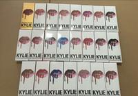 Wholesale 28color KYLIE JENNER LIP KIT liner Kylie Lipliner pencil Velvetine Liquid Matte Lipstick in Red Velvet Makeup Lip Gloss Make Up