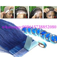 Wholesale 1pcs finest quality Lace wig glue tape for hair extension double sider glue tape human hair with supertape