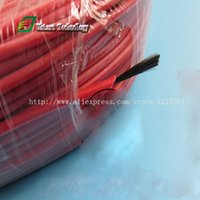 Wholesale DHL meters New infrared heating floor heating cable system of mm Silicone carbon fiber wire electric hotline