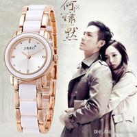 Wholesale Fashion Women Watch Imitation ceramics watches Style watches lady Student Wristwatch For women quartz Wrist watch Free DHL