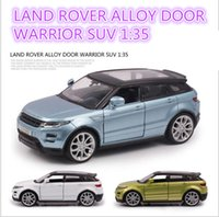 big range rover - Range Rover SUV Scale Emulational Electric Alloy Diecast Models Car Toys Brinquedos Miniature Pull Back Cars Doors Openable Toy Cars