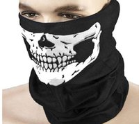 Ring Active Print 2016 Motorcycle SKULL Ghost Face Windproof Mask Outdoor Sports Warm Ski Caps Bicyle Bike Balaclavas Scarf