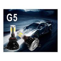 Wholesale DHL Fedex Sets G5 lm Auto LED Headlight H4 H7 Hb3 Hb4 w v H3 LED Headlights