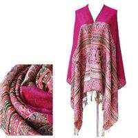 bee tassels - 2016 New Fashion scarves shawls Women Warm Winter jacquard Pashminas Small Bee Pattern Wraps Tassels scarf