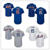 Wholesale 2016 Tim Tebow Authentic baseball Jersey Men s Tim Tebow New York Mets Cool Base Jersey with Embroidery Logos Size