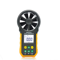Wholesale handheld digital anemometer wind speed meter instrument tool air flow tester high accuracy data hold function