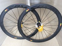 Wholesale Mavic cosmic wheels full carbon road bike wheels mm rim k weave bicycle wheelset C Racing bicycle wheels made in china