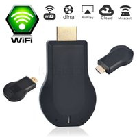 Wholesale Wifi HDMI THT Any Cast TV Stick Miracast Airplay DLNA Dongle Wifi Display for iOS Andriod Better than Chromecast