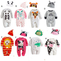 Wholesale Baby Rompers Baby Boy Clothes Newborn Creepers InfantilE Clothes Carters Baby Girl Romper Baby Body Jumpsuit Next Kids Clothing