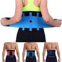 belly slimming exercises - New Hot Sale Neoprene Waist Trimmer Exercise Belt Slimming Burn Fat Sauna Sweat Loss Weight Sport Belly Girdle For Men Women Waist Cincher