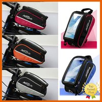 bicycle carrier bags - New iPhone s Samsung S7 Bicycle Bike Mobile Phone Holder iPhone Frame Pouch Bag Case Carrier Cycle for Cellphone