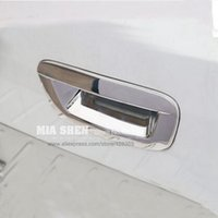 Wholesale Car rear door handle cover trim decoration Exterior sticker ABS Chrome Styling products accessory For Opel Mokka Trax
