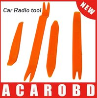 Wholesale 4pcs color Auto Car Radio Door Clip Panel Trim Dash Audio Removal tool Installer Pry Tool tools styling