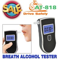 alcohol units - Patent Prefessional Police Digital Breath Alcohol Tester Breathalyzer with Mouthpiece convertible units Breathalyzer bag
