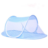 Wholesale Comfortable Baby Mosquito Bed Portable Infant Bed Canopy Mosquito Netting Folding Newborn Baby Mosquito Nets for Toddler Crib
