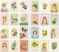 Wholesale DIY Stationery Scrapbooking Paper Sweet Girls Diary Stamp Stickers Wedding Decoration Sticker