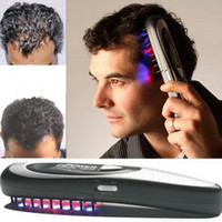 Wholesale pc Laser massage comb body massager Hair comb massage equipment Comb Hair growth Care Treatment A2