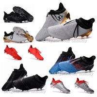 Wholesale New Original mens High Ankle Football Boots for men ACE Purecontrol FG AG Soccer Shoes X Purechaos Soccer Cleats