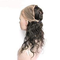 baby hair elastic - New Style x4 Body Wave degree Lace Band Frontals Back with elastic Lace Frontal Closure Natural Hairline with Baby Hair