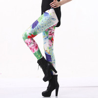 Moda Mujer Peony y Peacock Galaxy Leggings Blue Pantalones de buceo Impreso Sky Space Stretchy Breathe Navidad Caliente Jeggings Slim Tights