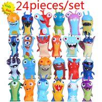 Wholesale 2016 New set cm Anime Cartoon Slugterra Mini PVC Action Figures Toys Dolls Child Toys