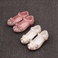 Wholesale Girls Dress Shoes Korean Casual Princess Shoes Kid Girls Footwear Autumn Girl Shoes Children Dress Shoes Kids Leather Shoes Ciao C28891